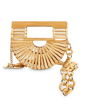 Cult Gaia - Ark Mini Bamboo Belt Bag