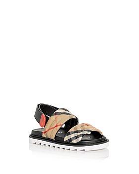 Burberry - Unisex Brewster Vintage Check Sandals - Toddler, Little Kid