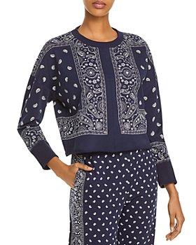 AQUA - Bandana Print Sweatshirt - 100% Exclusive