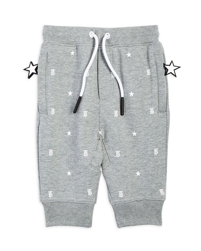 Burberry UNISEX GREGORY STAR PRINT JOGGERS - BABY