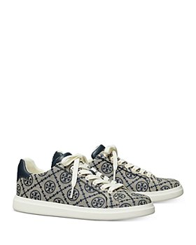 Tory Burch - Women's Howell Double T Monogram Sneakers