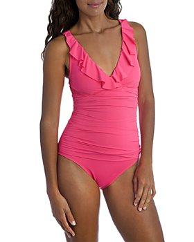La Blanca - Island Goddess Ruffled One Piece Swimsuit