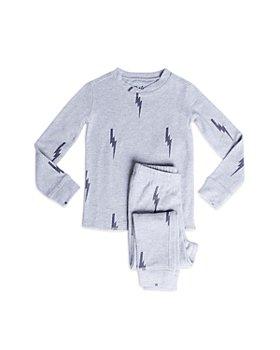 PJ Salvage - Unisex Lightning Bolt Pajama Set - Little Kid, Big Kid