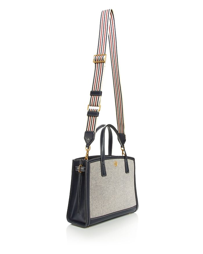 TORY BURCH Canvases WALKER SMALL CANVAS SATCHEL