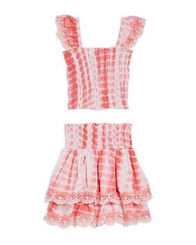 Peixoto - Girls' Mariel Tie-Dyed Top & Skirt Set - Big Kid