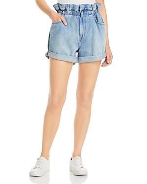 Frame Denim Paperbag Waist Shorts
