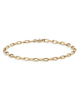 David Yurman - 18K Yellow Gold Madison Link Bracelet