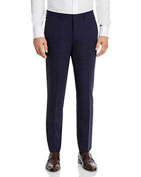 HUGO - Hesten Check Extra Slim Fit Suit Pants
