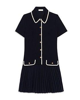 Sandro - Alberta Pleated Skirt Dress
