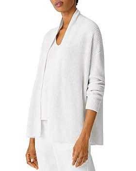 Eileen Fisher - Open-Front Boxy Cardigan