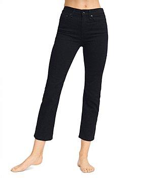 rag & bone - Nina High Rise Ankle Cigarette Jeans in Black