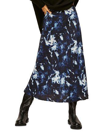 Whistles - Tie Dye Midi Skirt
