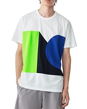 Colorblock Graphic Tee