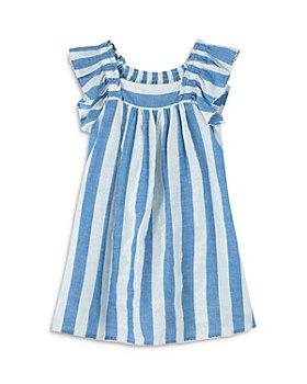Peek Kids - Girls' Striped Babydoll Dress - Little Kid, Big Kid