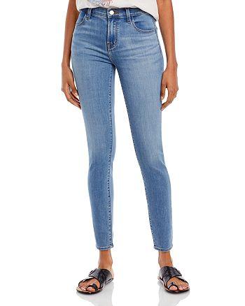 J Brand - Maria High Rise Skinny Jeans in Earthen