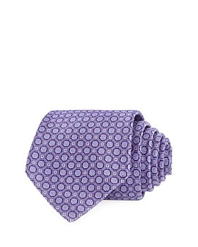 The Men's Store at Bloomingdale's - Floral Medallion Neat Silk Classic Tie - 100% Exclusive