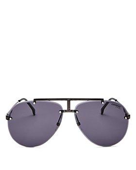 Carrera - Men's Polarized Brow Bar Aviator Sunglasses, 62mm
