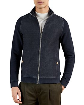 Ted Baker - Funnel Neck Zip Sweater