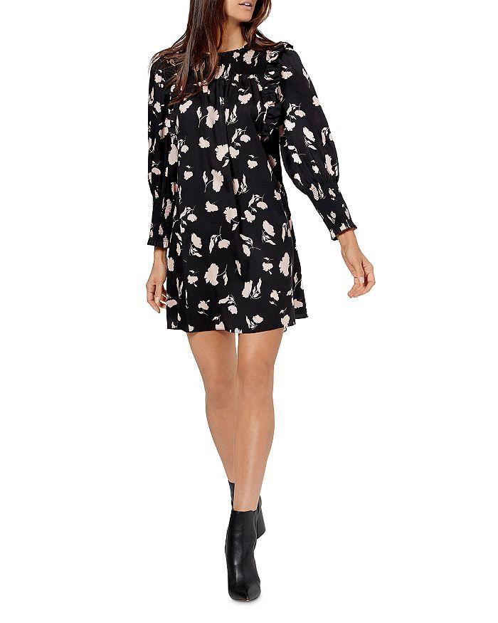 Joie - Jamila Smocked Floral Print Dress