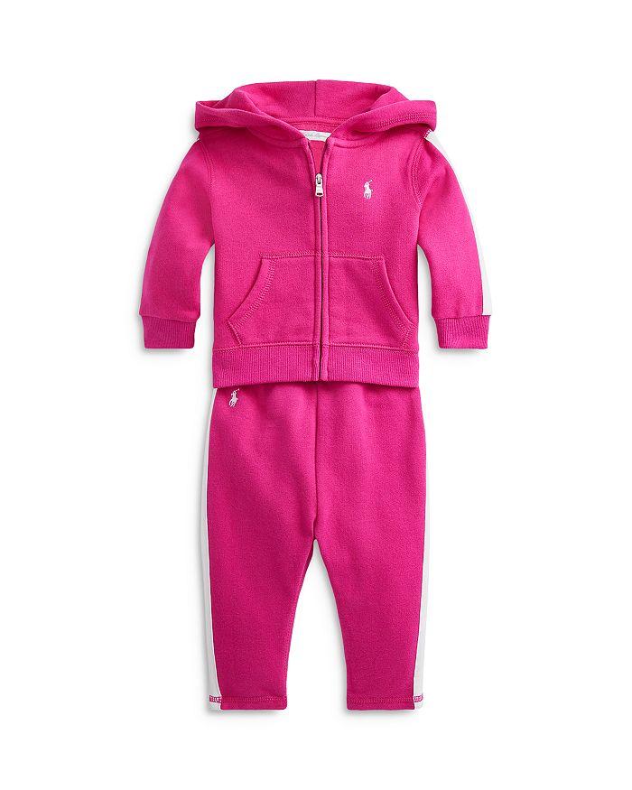 Ralph Lauren - Girls' Fleece Hoodie & Leggings Set - Baby