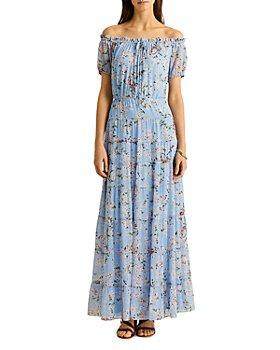Ralph Lauren - Floral Georgette Maxi Dress