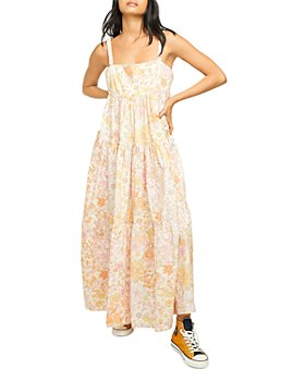 Free People - Park Slope Floral Maxi Dress
