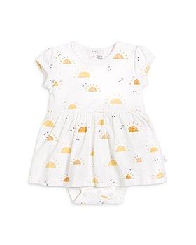 FIRSTS by petit lem - Girls' Sunshine Jumpsuit Dress - Baby