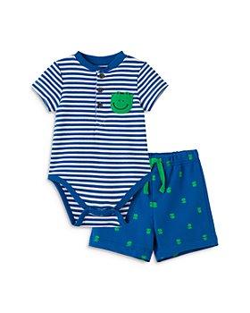 Little Me - Boys' Frog Bodysuit & Shorts Set - Baby