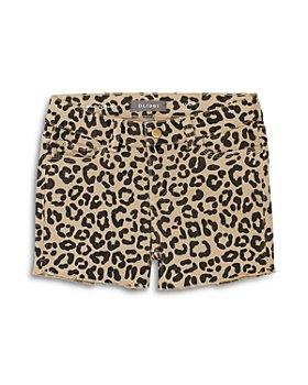 DL1961 - Girls' Lucy Leopard Print Shorts - Little Kid, Big Kid