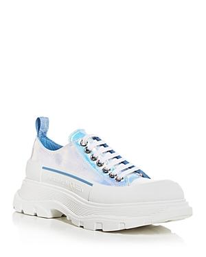Alexander McQUEEN Women's Tread Slick Iridescent Low Top Platform Sneakers