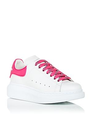 Alexander McQUEEN Women's Oversized Rubber Heel Detail Sneakers
