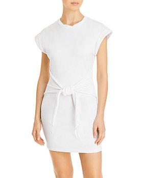 LINI - Janelle Tie-Front Sweatshirt Dress - 100% Exclusive