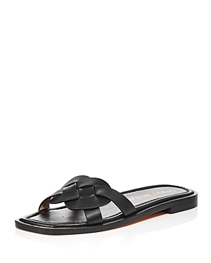 Stuart Weitzman WOMEN'S SIERRA SLIP ON SANDALS