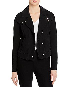 Lyssé - Essential Denim Moto Jacket