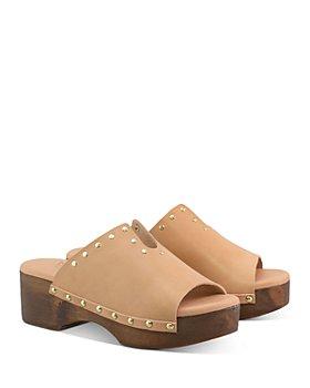 Ancient Greek Sandals - Women's Sagini Studded Clogs