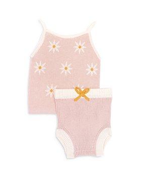 Tun Tun - Girls' Daisy Knitted Top & Bloomers Set - Baby
