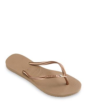 Women's Slim Crystal Ii Flip Flop Sandals