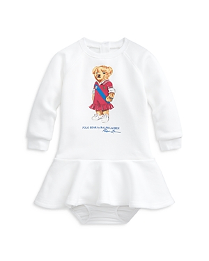 Ralph Lauren Dresses POLO RALPH LAUREN GIRLS' BEAR SKATER DRESS - BABY