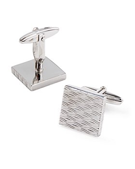 Lanvin - Engraved Square Cufflinks