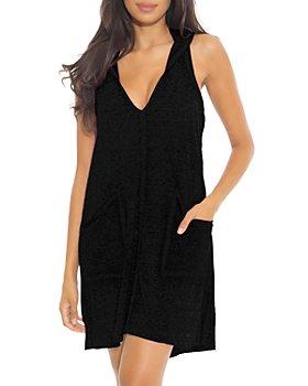 BECCA® by Rebecca Virtue - Beach Date Hooded Cover-Up Dress