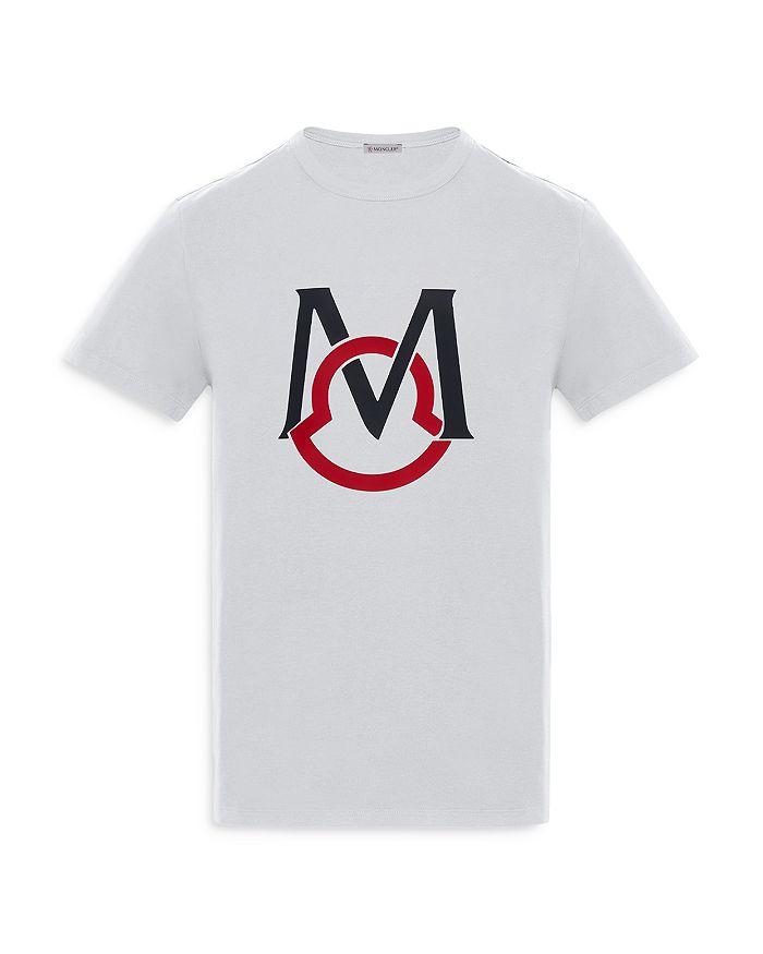 Moncler T-shirts LOGO OVERSIZED CREWNECK TEE