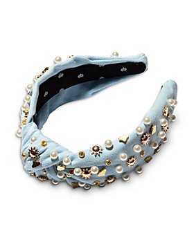 Lele Sadoughi - Cloud Charm Knot Headband