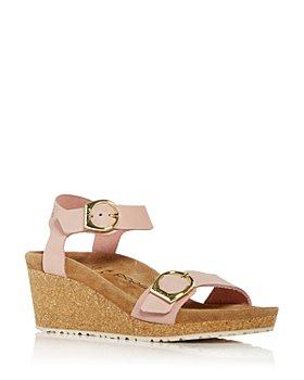 Birkenstock - Women's Papillio Soley Buckle Wedge Sandals