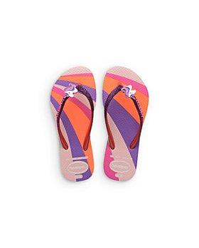 havaianas - Girls' Slim Glitter Unicorn Flip-Flops - Toddler, Little Kid