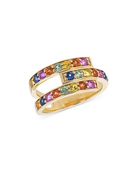 Bloomingdale's - Rainbow Sapphire Ring in 14K Yellow Gold - 100% Exclusive