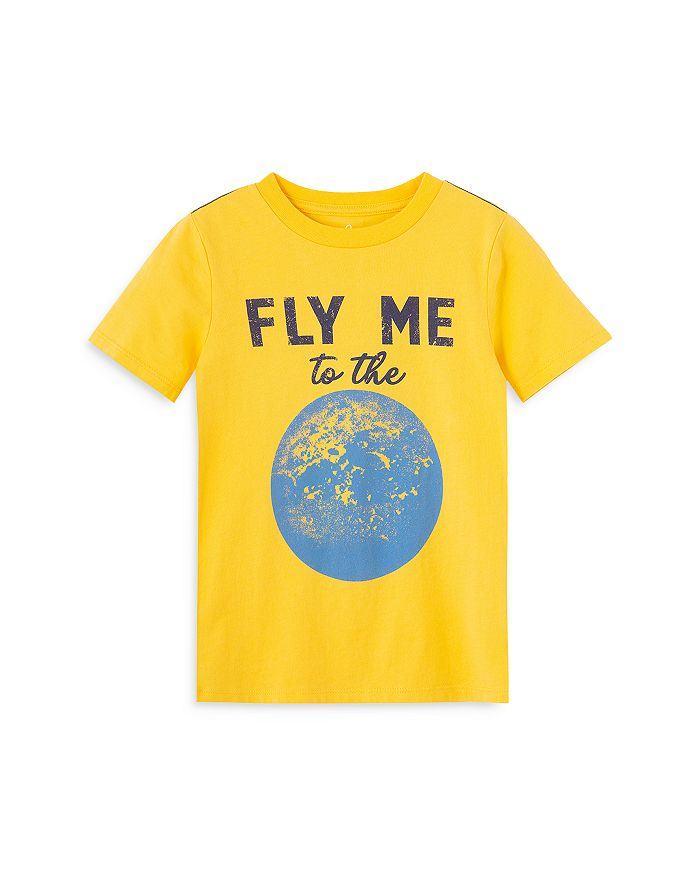 PEEK Cottons BOYS' FLY ME TO THE MOON COTTON TEE - LITTLE KID, BIG KID
