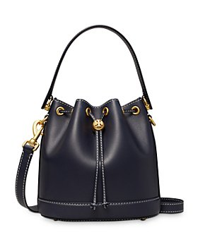 Tory Burch - T Monogram Small Leather Bucket Bag