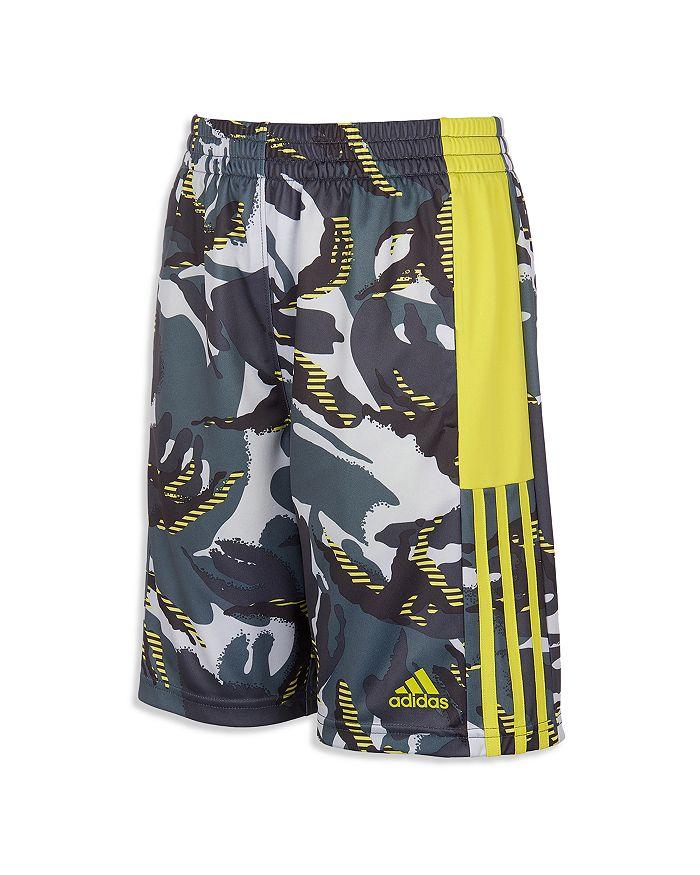 Adidas Originals BOYS' CAMO AEROREADY KNIT SHORTS - LITTLE KID