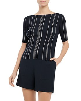Theory - Hankson Striped Top