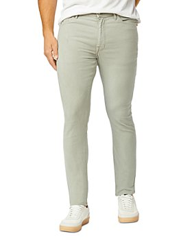 Joe's Jeans - The Dean Slim Fit French Terry Jeans in Dusty Green